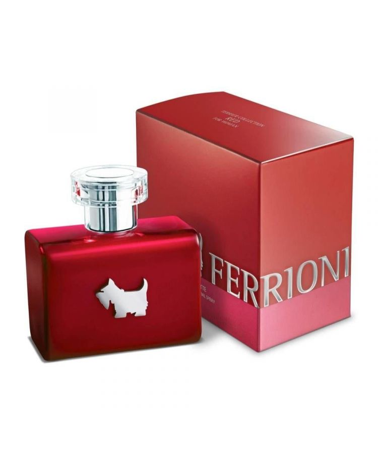 Red Terrier by Ferrioni