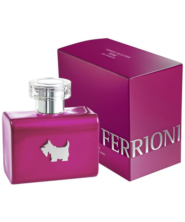 Pink Terrier By Ferrioni