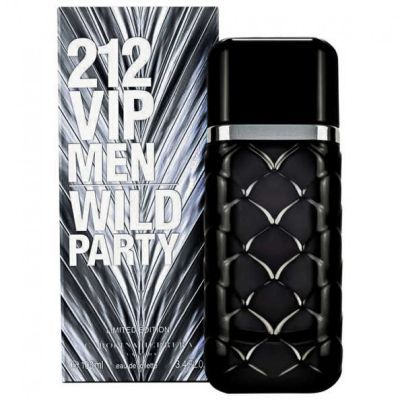 212 VIP Men Wild Party By Carolina Herrera