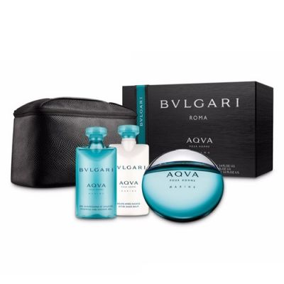 Set Aqva Pour Homme Marine By Bvlgari