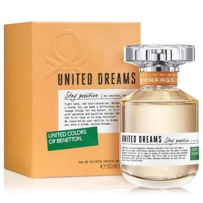 United Dreams Stay Positive By Benetton