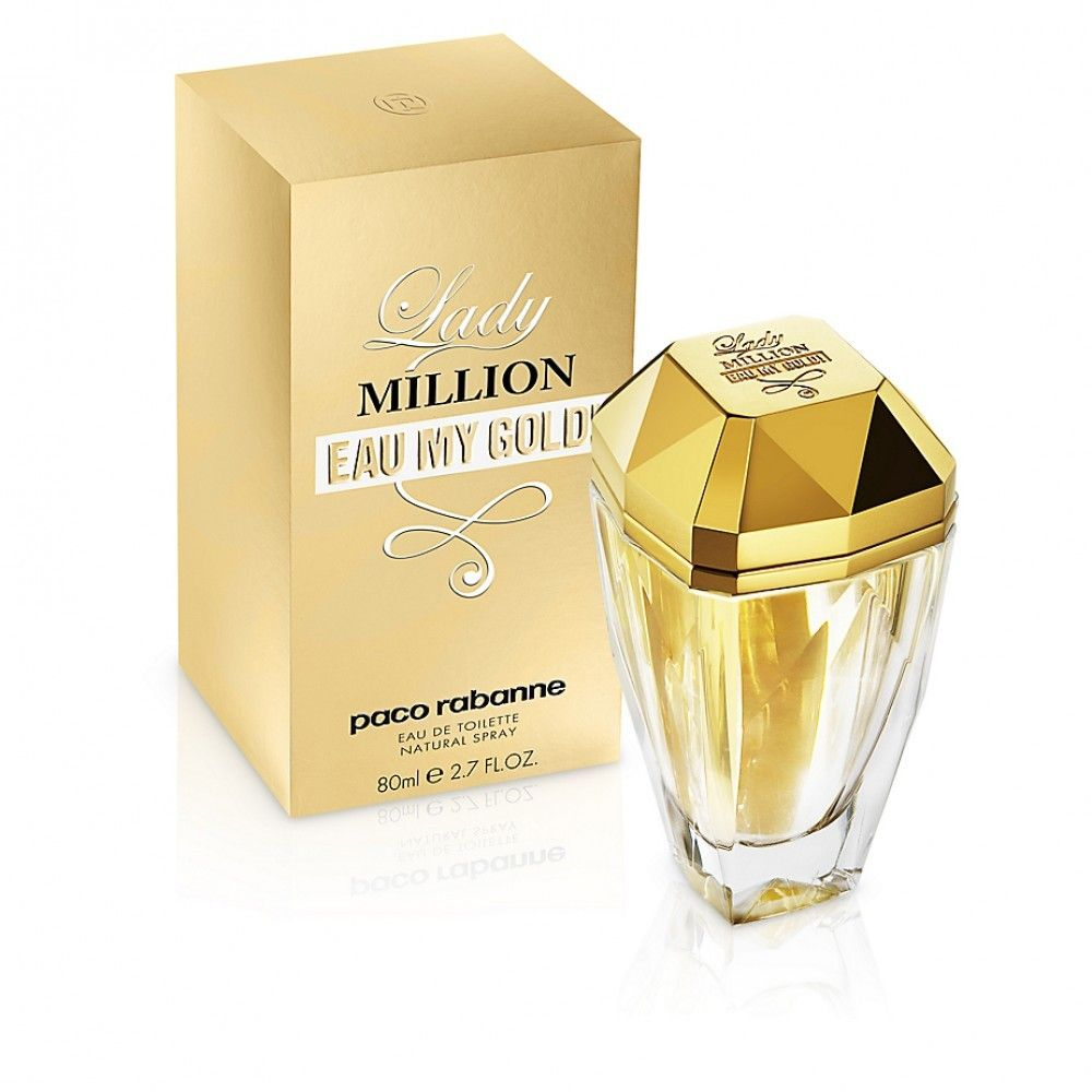 6c6715801 Lady Million Eau My Gold By Paco Rabanne